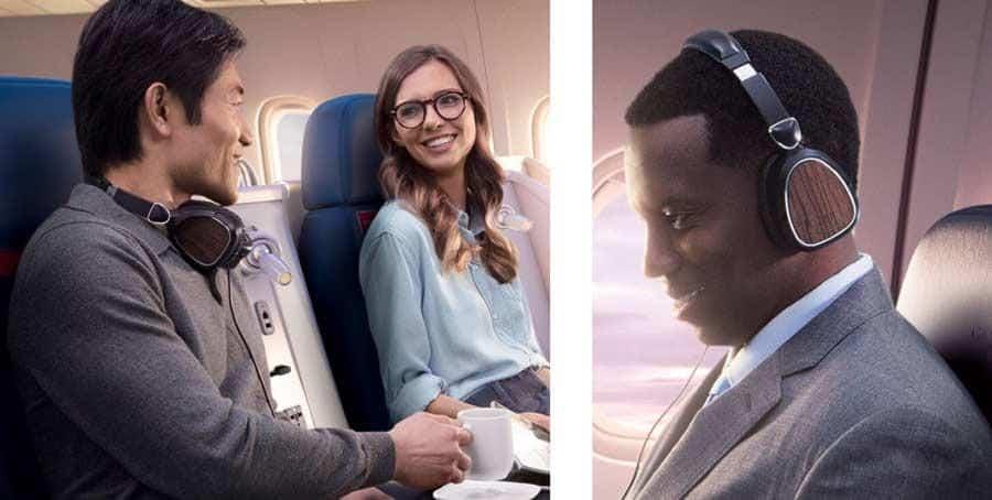 Az LSTN a világ egyik legnagyobb légitársaságának a Delta Air Lines-nak a fejhallgatópartnere