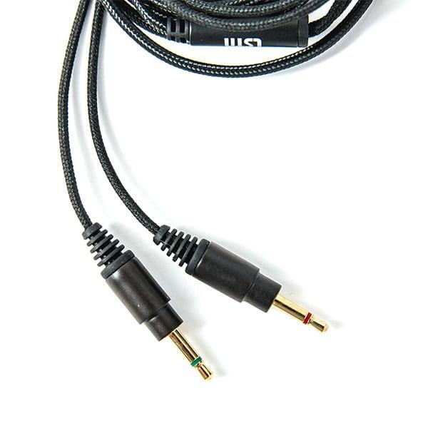 Fejhallgató Kábel Mikrofonnal És Hangerőszabályzóval - Ébenfa burkolattal az LSTN Fillmore és Troubadour fejhallgatókhoz