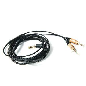 Fejhallgató Kábel Mikrofonnal És Hangerőszabályzóval - Zebrafa