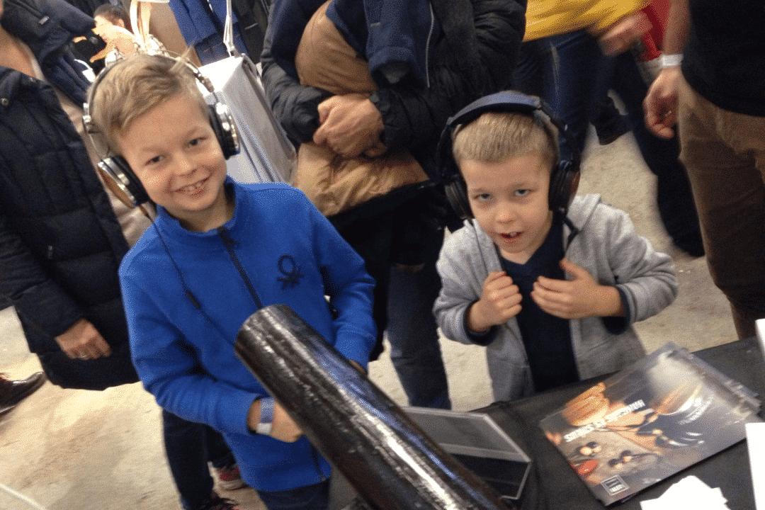 Gyerekek is imádták az LSTN fejhallgatókat