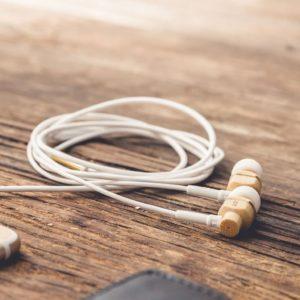 AVALON Fülhallgató Bambuszból
