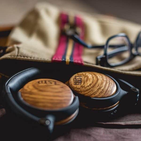 FILLMORE Bluetooth Fejhallgató Zebrafából