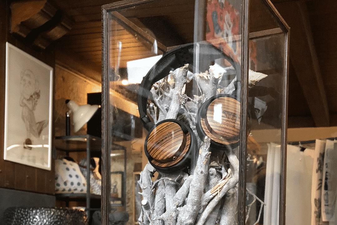 LSTN Fillmore fejhallgató a Partisan pécsi boltjában