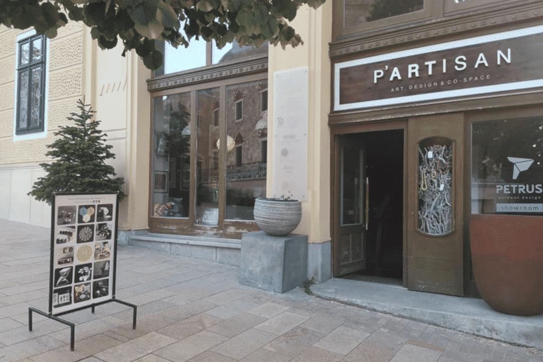 LSTN termékek a P'artisan boltjában Pécsen