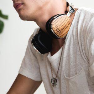 TROUBADOUR Bluetooth Fejhallgató Zebrafa