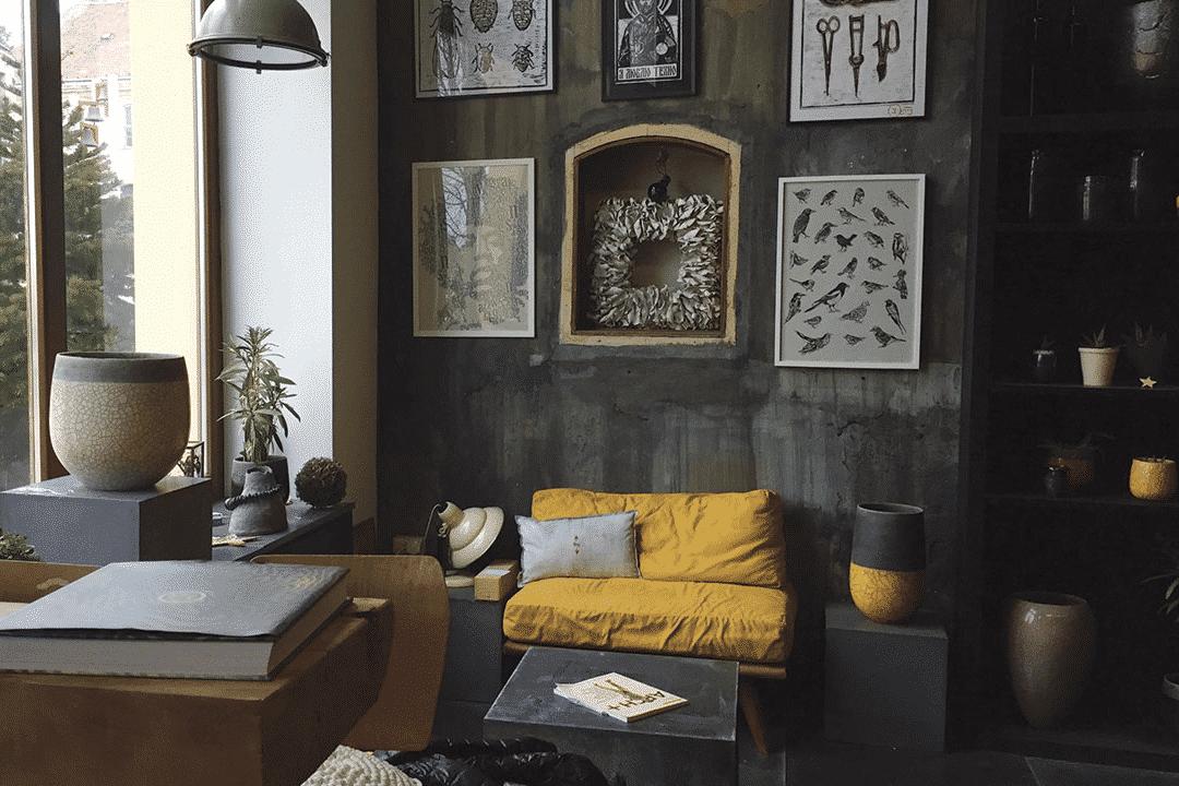 A Partisan art, design & co-space boltja Pécs központjában