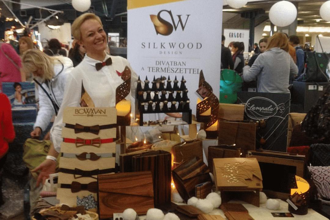 Silkwood Design táskák fából